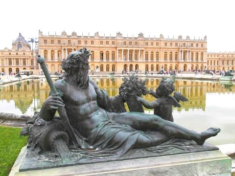 ベルサイユ宮殿 庭園10