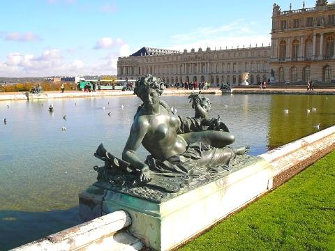 ベルサイユ宮殿 庭園11