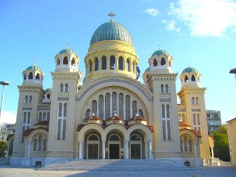 エギナ島のギリシャ正教会 1