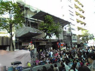 カーボーイボブ1・大道芸09