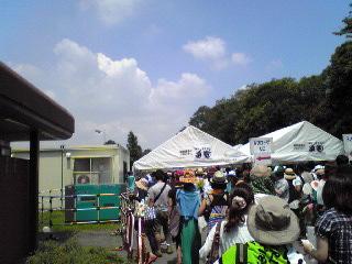 ワールドハピネス2011・入口
