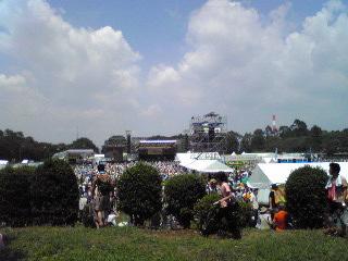 ワールドハピネス2011・全景