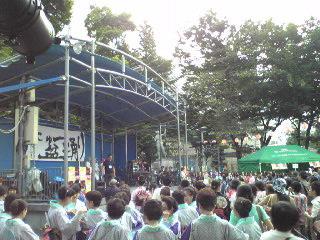 にゅー盆踊り・ステージ