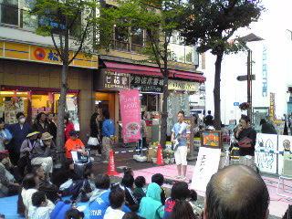 エモリハルヒコ&NOB・大道芸09