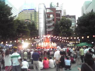 にゅー盆踊り・全景