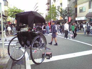 人力車・大道芸09
