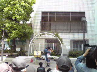 バーバラ村田・大道芸09