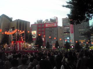 にゅー盆踊り・やぐら2