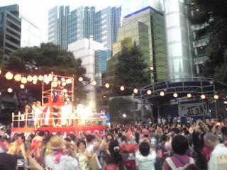 にゅー盆踊り・踊る1