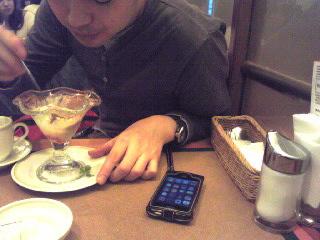 志らべさんとiPhone