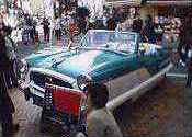 濱マイクの車
