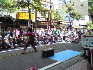 じっきぃ・大道芸09