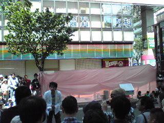 サンキュー手塚1・大道芸09