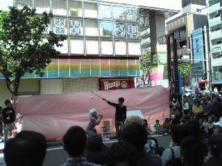 サンキュー手塚2・大道芸09