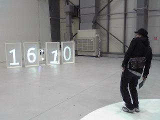 ヨコハマ国際映像祭・時計