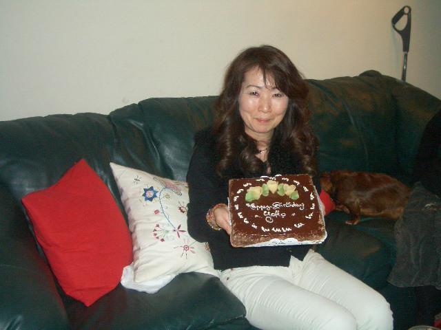 姫のバースディーケーキ