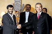 イスラム諸国首脳とアハマディネジャド大統領
