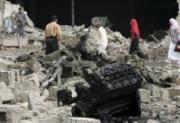 バグダッドの爆発現場060507