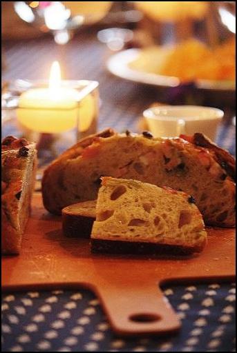 黒オリーブベーコンバジルチーズ(酒粕酵母)