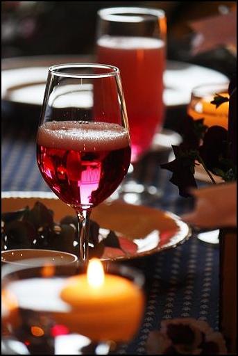 バラの香りのノンアルコールシャンパン