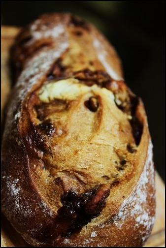 黒蜜くるみのパン