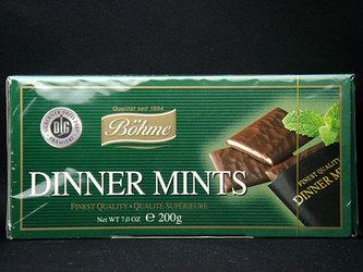 爽やかなミントチョコレート