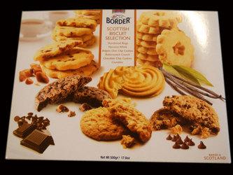 バターたっぷりのショートブレッドとクッキー