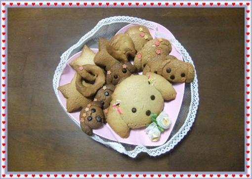 リッキー型クッキー