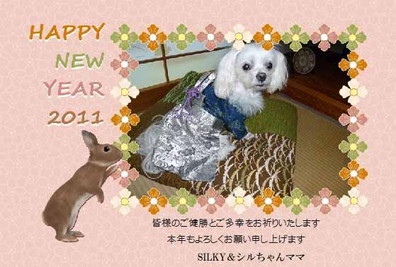2011年賀シルちゃんママさん