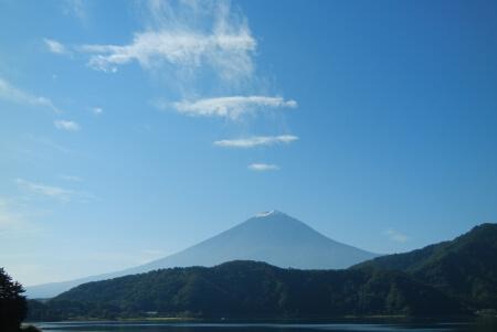 プライベートホテル麗前の富士山1