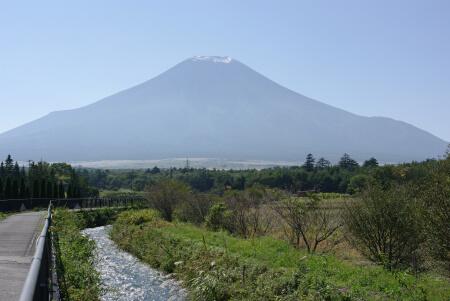 花の都公園_富士山