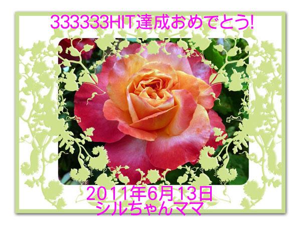 333333hit_シルちゃんママさん
