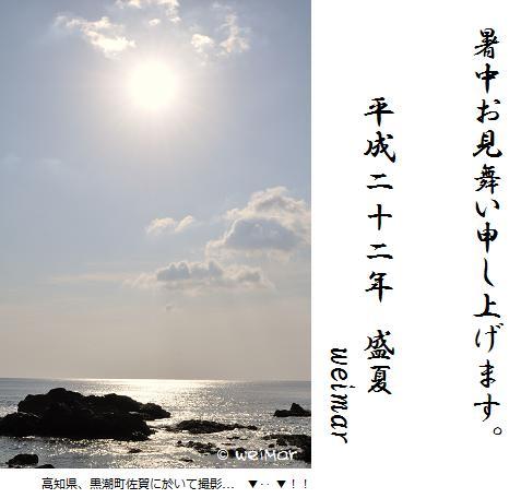 2010暑中見舞いweimar
