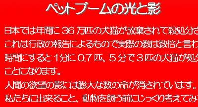 動物保護啓発ポスター3