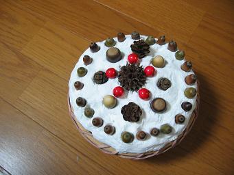 画像 1553どんぐりのケーキ.JPG