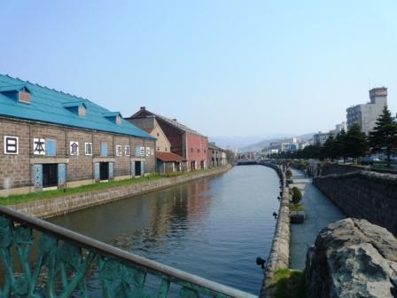 小樽運河です 小樽といえば、小樽運河・・・今日も観光客さん観光中なり このほとりにあ... Ca