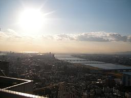 空中庭園展望台から・3.JPG