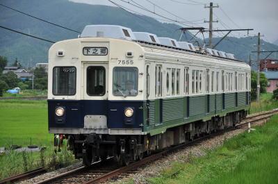 上田電鉄7200系 7255F 2009年7月29日