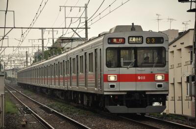 東急9000系 9011F 33ゥ急行武蔵小杉行き
