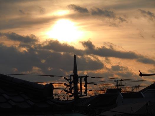 20120101私の部屋から見た初日の出