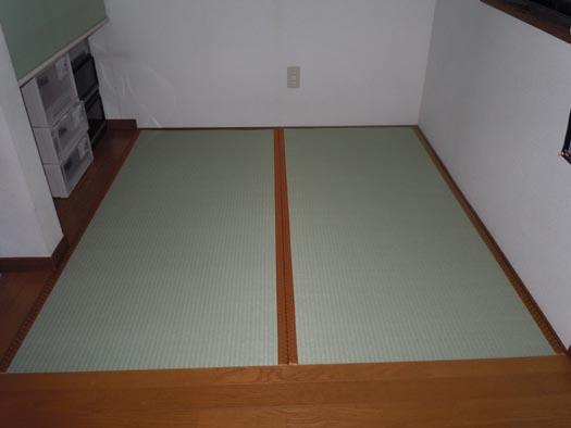 20110422自室の青畳