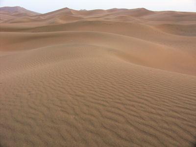 夕方の沙漠2