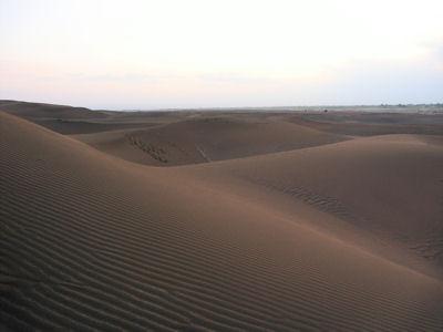 夕方の沙漠3