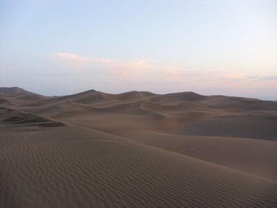 夕方の沙漠4