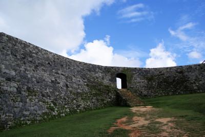 城の内側から