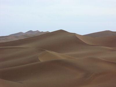 夕方の沙漠5