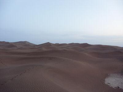 夕方の沙漠7