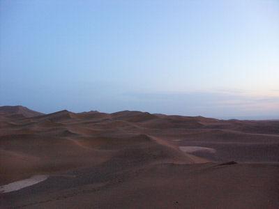 夕方の沙漠8