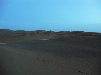 夕方の沙漠9