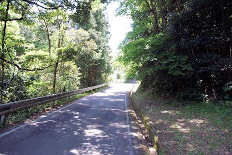 龍源寺間歩への道1